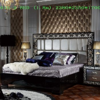 Спальня SK-A5001b-2 BEDROOM SET (1.8m)