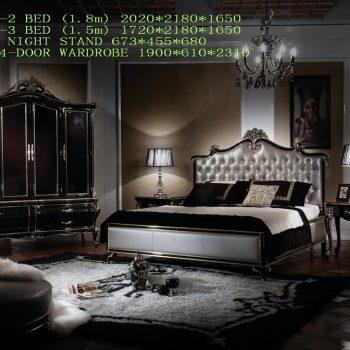 Спальня LT-A3001a-2 BED A3001a-3 BED
