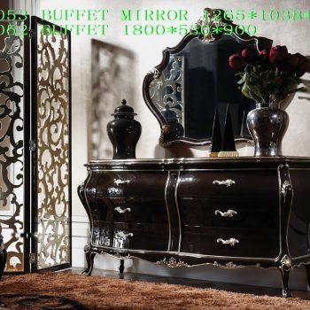 Буфет с зеркалом LT-A3053-B.MIRROR-A3052-BUFFET