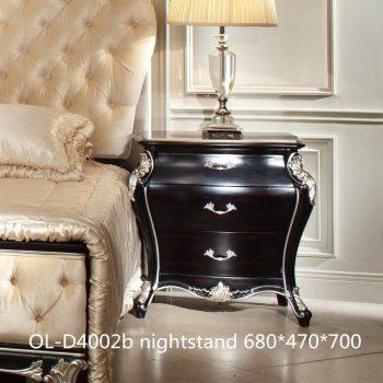 Тумбочка прикроватная OL-D4002b-Night-stand