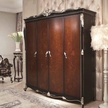 Шкаф OL-D4008a-1-4-door-wardrobe