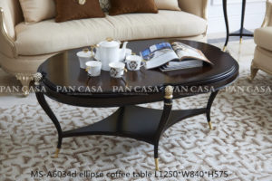 MS-A6034d ellipse coffee table