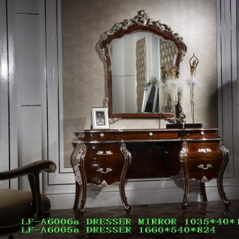 Туалетный столик LF-A6005a DRESSER+LF-A6006a D.MIRROR.