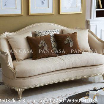 Диван MS-B6032k-3-3-seat-sofa