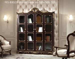 fes-b3022b-4-door-bookcase