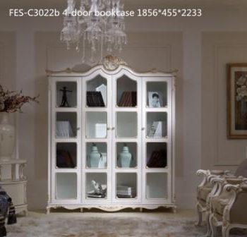 Книжный шкаф FES-C3022b 4-door bookcase