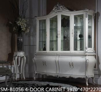 Книжный шкаф SM-B1056-4-DOOR-CABINET