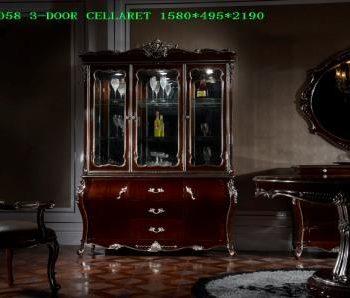 Витрина LF-A6058-3-DOOR-CELLARET