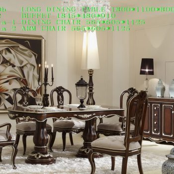 FES-B3050b LONG DINING TABLE